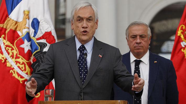 Presidente Piñera anuncia que alzas en planes de isapres se postergarán por tres meses