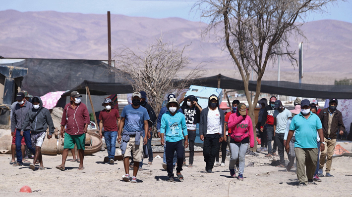 Cancillería anuncia que Bolivia autorizó el ingreso de sus ciudadanos varados en Huara