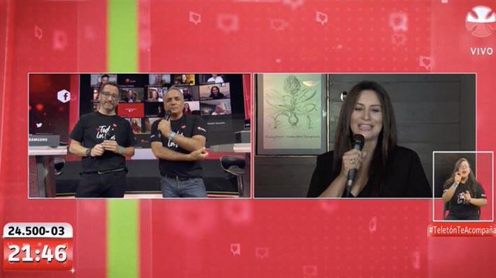 Myriam Hernández tuvo una aplaudida presentación en la Teletón 2020: Televidentes destacaron su calidad vocal