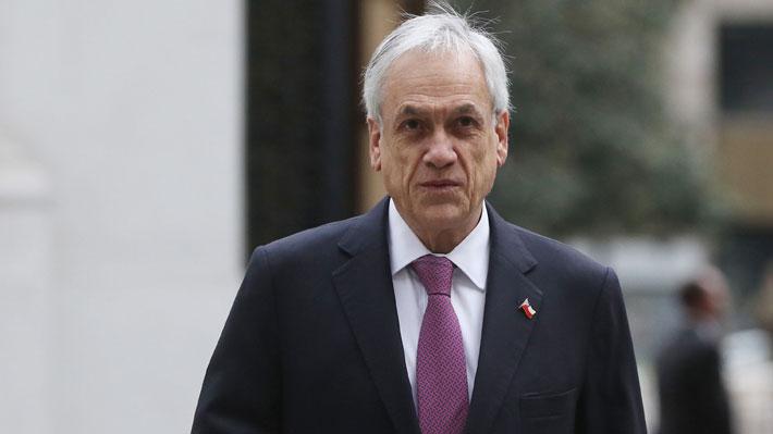 Aprobación del Presidente cae dos puntos (19%) y casi un 80% cree que los chilenos no se toman en serio la crisis