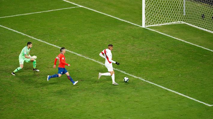 La Conmebol usó un gol de Perú a Chile en la Copa América para hacer un llamado por el coronavirus
