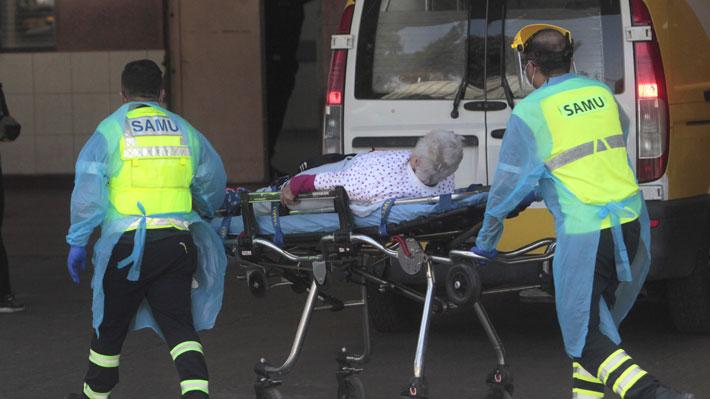 Siete de los nuevos nueve fallecidos por covid-19 son de la Región Metropolitana