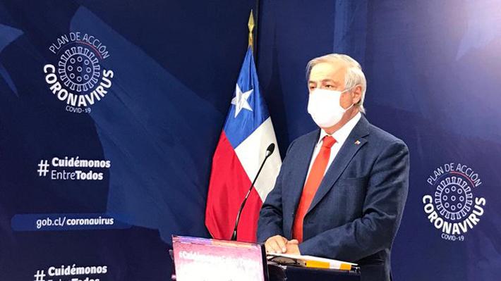 Minsal reporta 9 nuevos fallecidos por covid-19, la cifra más alta desde el inicio de la pandemia en Chile