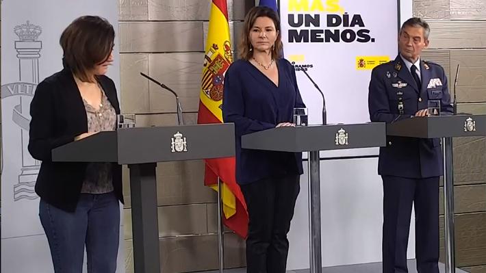 España registra un nuevo descenso de muertes y contagios por coronavirus según último balance