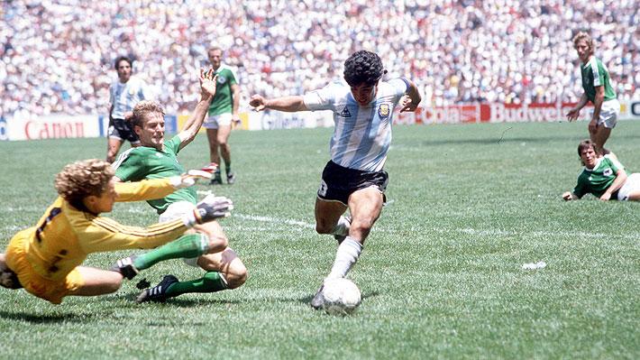 Mira el video de las increíbles jugadas de Maradona en el Mundial del '86 que se viralizó