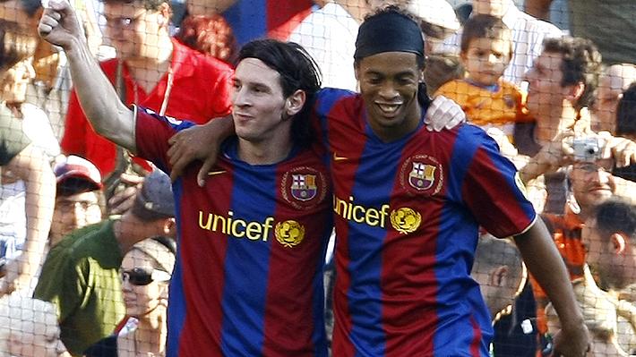 """Ex presidente del Barcelona abre el debate y asegura que """"Ronaldinho fue igual de bueno o mejor que Messi"""""""