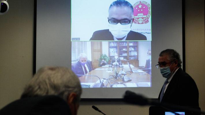 """Embajador Xu Bu dice que Minsal """"ha mantenido contacto"""" con él planteando """"esperanza de comprar ventiladores de China"""""""