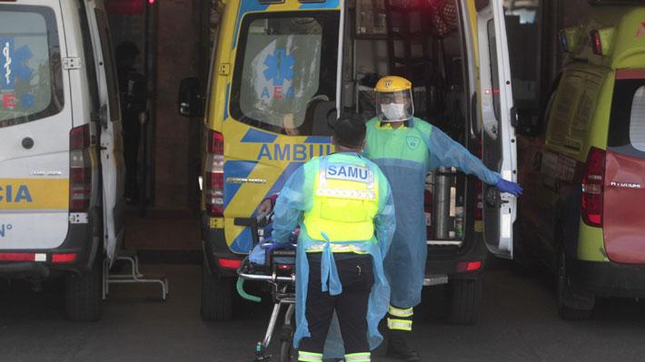 Los seis nuevos fallecidos por covid-19 en Chile son de distintas regiones