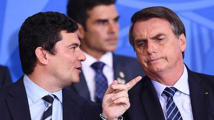 Bolsonaro y Moro protagonizan un nuevo cruce de acusaciones tras la salida del ministro en Brasil