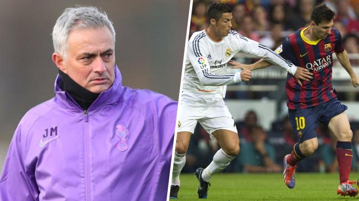 La singular respuesta de Mourinho al ser consultado por si prefería a Cristiano o a Messi