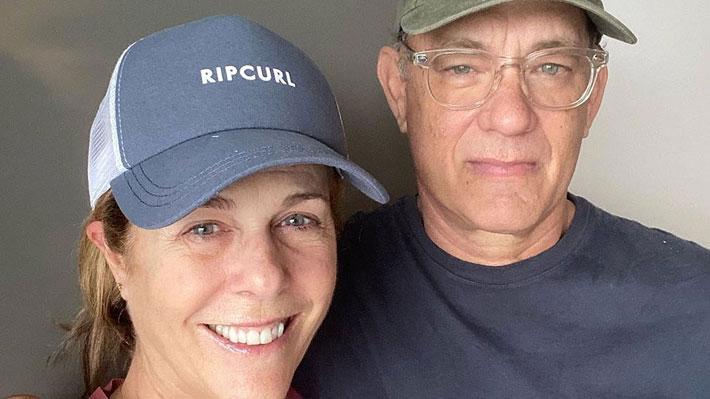 Tom Hanks y su esposa donarán su sangre para crear vacuna que pueda combatir el covid-19