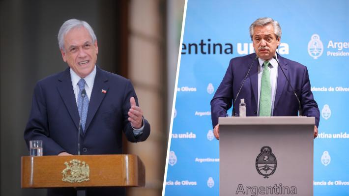 Presidente argentino llama a Piñera tras impasse por conversación que sostuvo con la oposición chilena