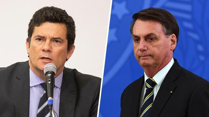 Investigación contra Bolsonaro en Brasil comienza con interrogatorio de ocho horas a ex ministro Sergio Moro