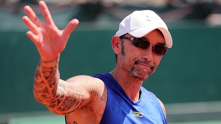 """Un distendido """"Chino"""" Ríos habla de todo: Arma su tenista ideal, el """"susto"""" al covid-19, Kyrgios, Sergio Jadue y anécdota de Trump"""