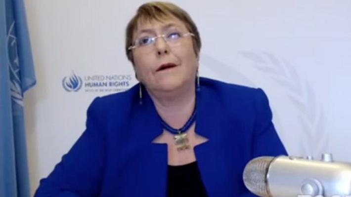 """Bachelet: """"La protesta en Chile demostró que la democracia no está generando los productos que uno esperaría"""""""