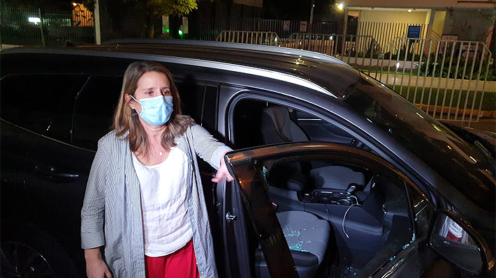 Diputada Karin Luck (RN) sufre intento de encerrona en Providencia tras regresar de sesión en el Congreso