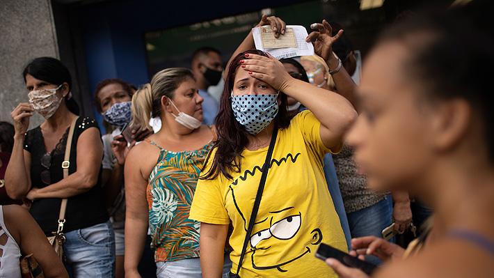 """Rápido avance del covid-19 en Brasil alarma a sus vecinos: """"Representa un riesgo muy grande"""""""