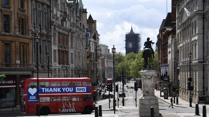 Reino Unido extiende el confinamiento por el coronavirus pero relajará medidas el próximo lunes