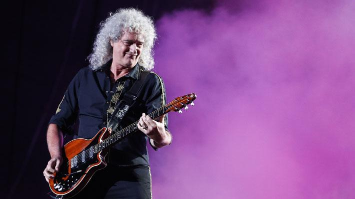 """Guitarrista de Queen fue hospitalizado tras sufrir accidente doméstico en el que """"destrozó sus glúteos"""""""