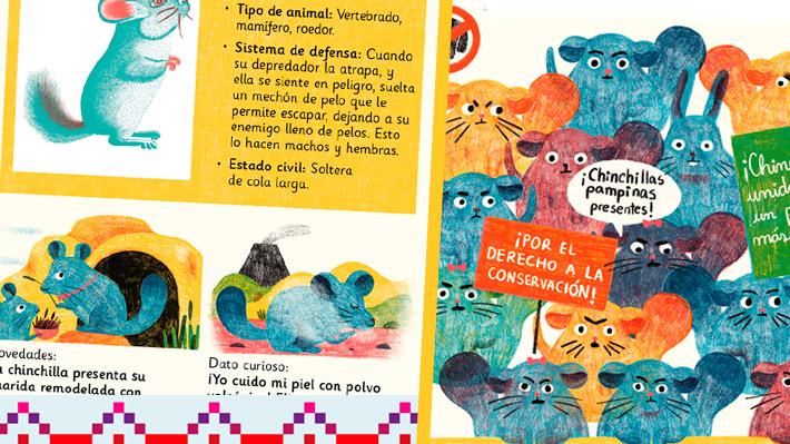 Conoce la fauna local: Aprende sobre la chinchilla con la revista Guarisapo