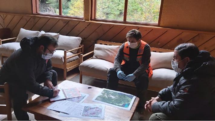 Instalan nuevas estaciones de monitoreo en complejo volcánico Antillanca y zonificarán áreas de peligro