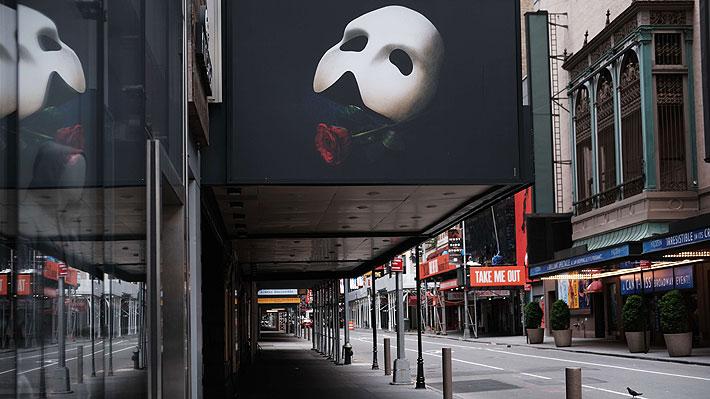 Broadway aplaza por segunda vez la reapertura de sus teatros y no funcionará por lo menos hasta septiembre