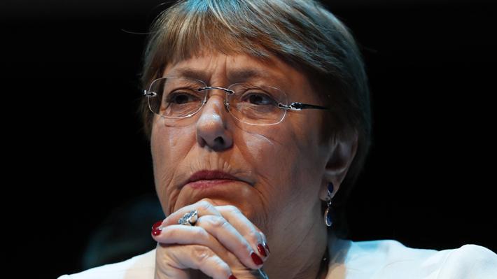 """Bachelet proyecta que el mundo tras la pandemia será """"diferente"""" y la población deberá cambiar sus """"comportamientos"""""""