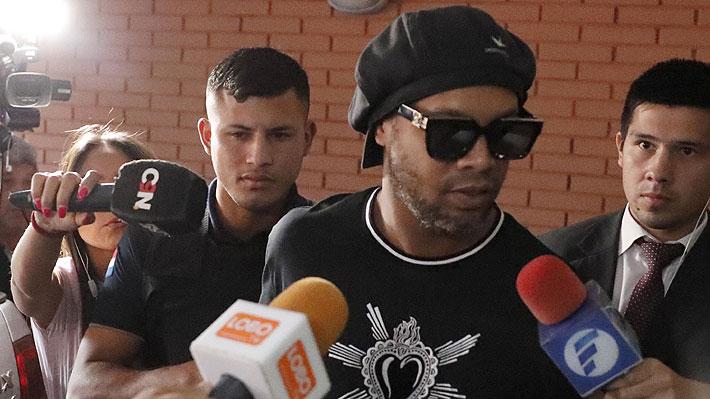 En qué está el caso de Ronaldinho a más de un mes de dejar la cárcel tras pago de millonaria fianza