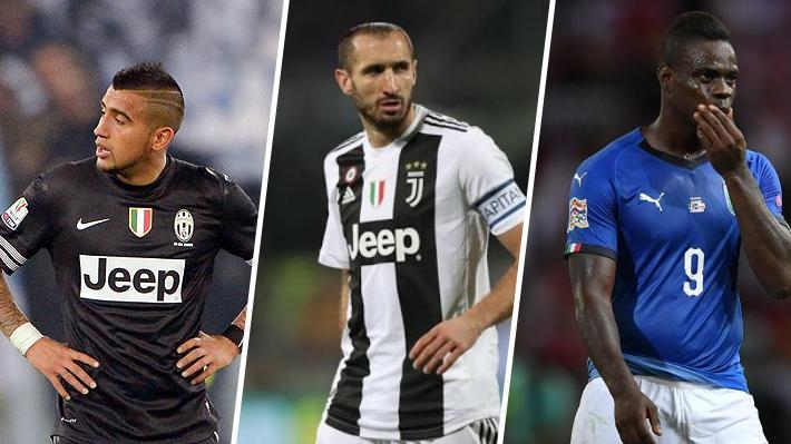 No sólo Arturo Vidal: Los otros jugadores mencionados en las revelaciones de Chiellini y las fuertes respuestas que ha recibido