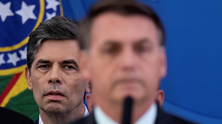 La obsesión de Bolsonaro por la cloriquina que habría motivado la renuncia de su ministro de Salud