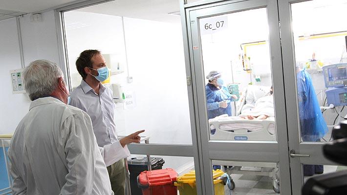 """Mañalich y decreto que exige a clínicas privadas duplicar camas críticas: """"Vamos a fiscalizar diariamente para que se cumpla"""""""