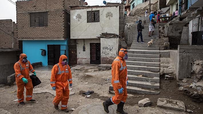 Perú supera los 100 mil casos y se consolida como el segundo país más golpeado por el covid-19 en Latinoamérica