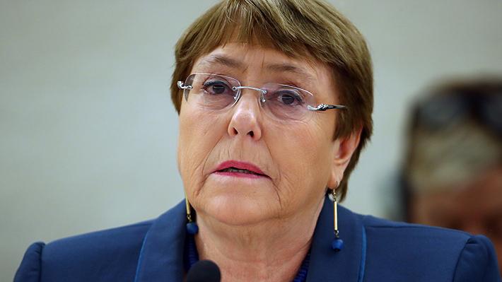"""Bachelet y protestas en El Bosque y La Pintana: """"Es clave generar mecanismos de protección social importantes"""""""