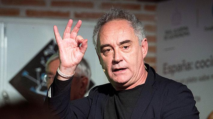 Ferran Adrià prevé que tras la pandemia las personas irán menos a restaurantes y cocinarán más en sus casas