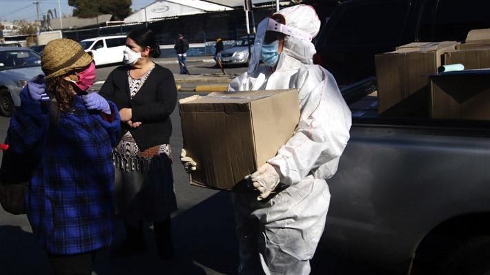 """Gobierno ya ha entregado 7.850 cajas de alimentos en el país y califica de """"muy exitosa"""" primera jornada"""