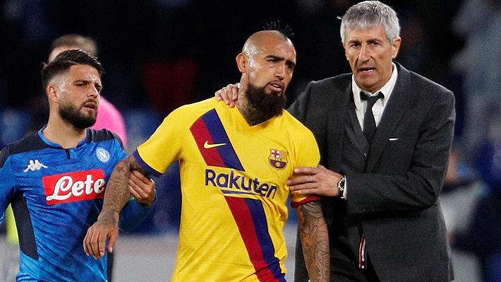 """¿Se queda en Barcelona? Medios europeos dicen que se """"frenó"""" traspaso de Arturo Vidal al Inter"""