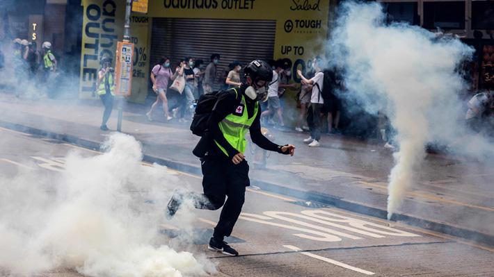 Vuelven a Hong Kong las protestas contra la futura ley de Seguridad Nacional de China