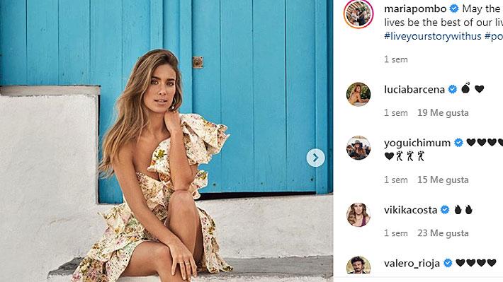 Influencer española María Pombo revela que sufre un problema de salud y pide a sus seguidores tiempo para asimilarlo