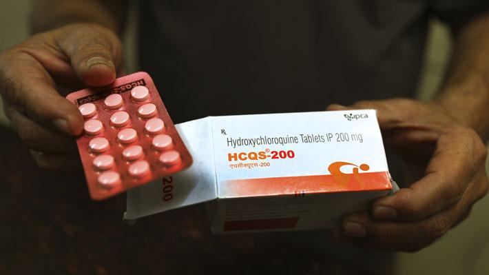 OMS detiene ensayos con hidroxicloroquina al detectarse mayor mortalidad en pacientes que recibieron tratamiento