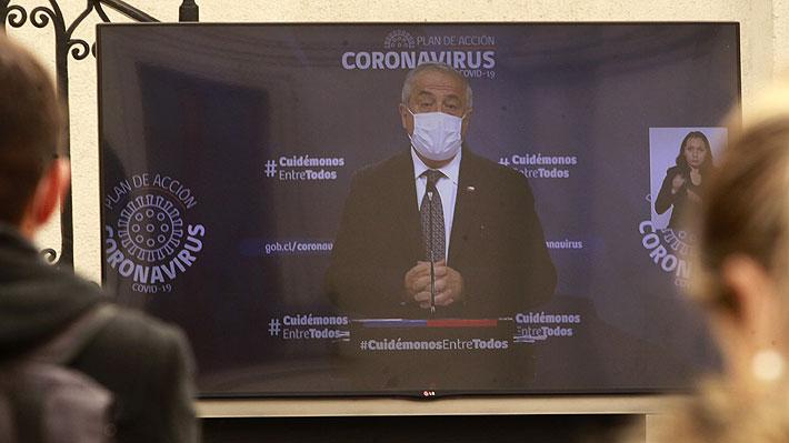 """Mañalich dice que no se ha llegado al """"debate de la última cama"""" y que ante ese escenario """"el otro paciente se traslada"""""""