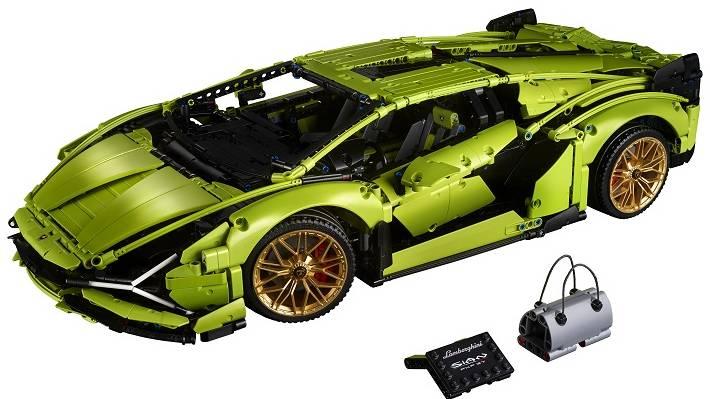 Lego suma al Lamborghini Sián híbrido en su colección de superdeportivos a escala