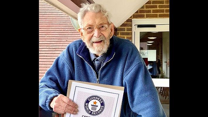 Bob Weighton, considerado el hombre más longevo del mundo, murió a los 112 años