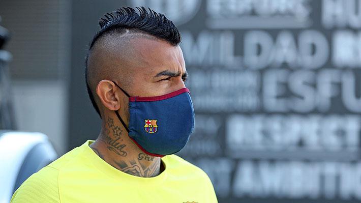 """Vidal se refiere al sueño que quiere cumplir y que """"pocos jugadores lo han hecho en la historia"""""""