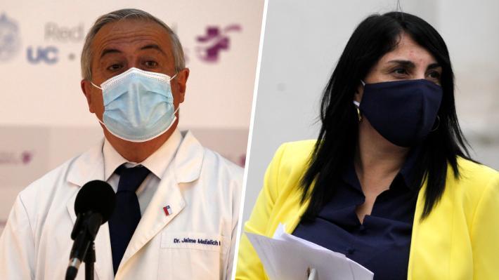 """Mañalich e idea de Codina de Rubilar como ministra de Salud: """"Hay personas muy capaces (...) es el Presidente el que decide"""""""