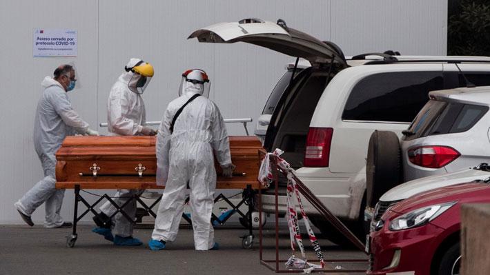 47 de los 57 nuevos decesos eran de la RM: Iguala su peor registro de fallecidos