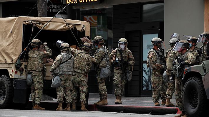 En qué se diferencia con el Ejército la Guardia Nacional, la fuerza desplegada en EE.UU. ante protestas por George Floyd