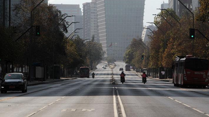 Gran Santiago se mantiene en cuarentena: Movilidad se redujo apenas en un 30% en la Región Metropolitana