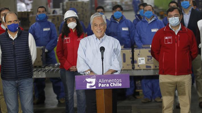 """Presidente cifra en más de 600 mil las cajas de alimentos repartidas: """"Hacemos lo humanamente posible para cumplir"""""""