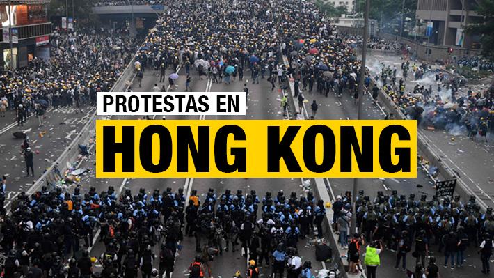 A un año del inicio de las protestas en Hong Kong: Cronología de una época turbulenta