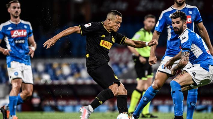 Alexis ingresó bien e incluso pudo marcar, pero no logró evitar empate que dejó al Inter fuera de la final de la Copa Italia